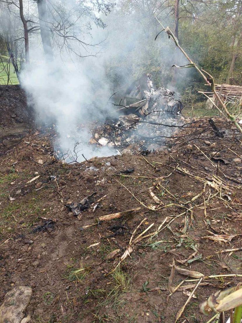 ФОТО: Објавени први фотографии од урнатиот српски воен авион