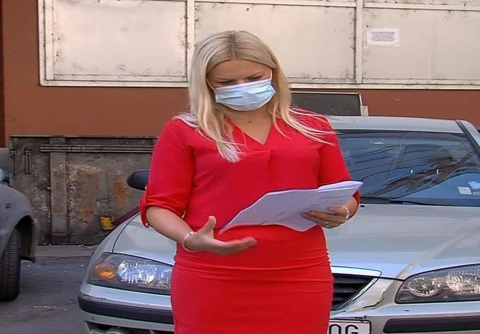 """ВИДЕО: Наташа Димитриевска ја започна правната битка за сообраќајката кај """"Млечен"""""""