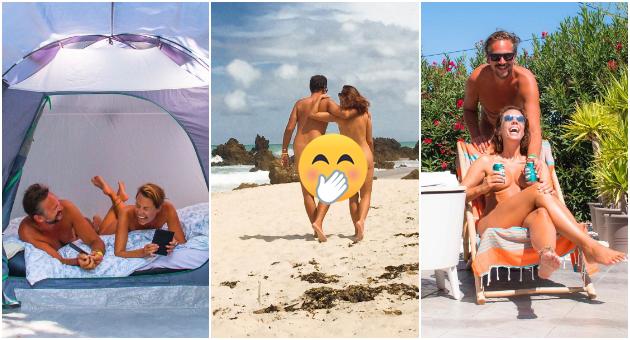 Пар од Белгија патуваат низ светот и се сликаат голи (ФОТО)