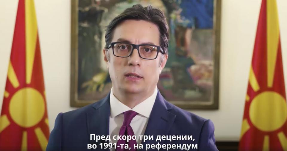 (ВИДЕО) Пендаровски: Патот по кој тргнавме бара политичари кои носат одлуки во интерес на граѓаните