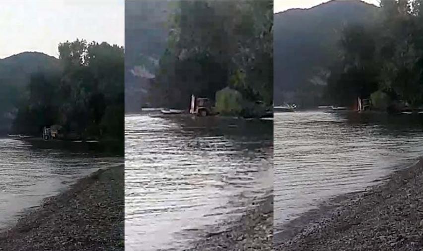 """Кујтим Усеини: Багерот што вади песок од Охридското Езеро не е сопственост на """"Нефи ИК"""""""