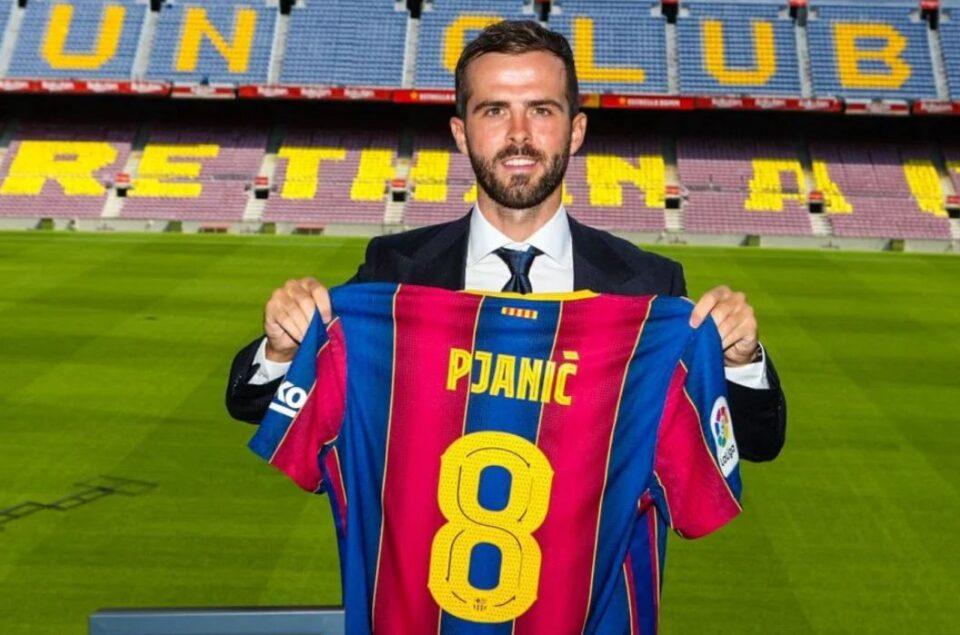 """ВИДЕО: Пјаниќ на промоцијата со една реченица ги """"купи"""" навивачите на Барселона"""