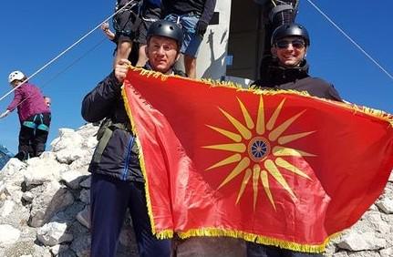 ФОТО: Македонски планинари го освоија највисокиот врв на Балканот