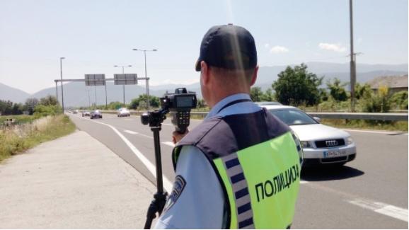 384 санкционирани возачи во Скопје: 138 за пречекорена брзина, 20 мотоциклисти