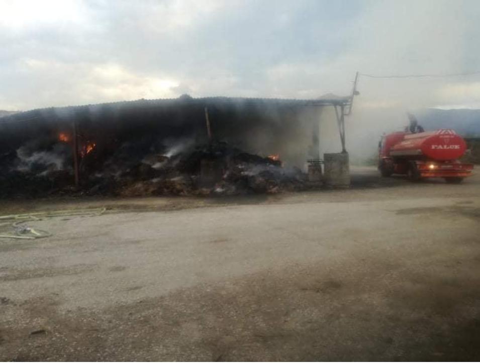 Во тетовска Брвеница пожар во објект на земјоделска задруга
