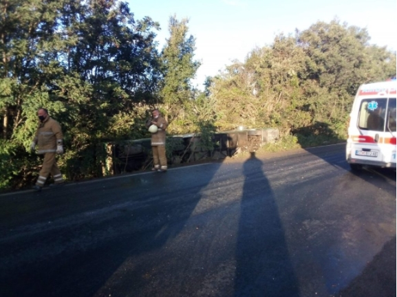 Во тек се прегледите на повредените војници на АРМ во сообраќајнатa несреќа
