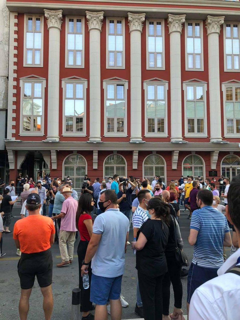 ВО ЖИВО: Протест на ВМРО-ДПМНЕ против неправдите, реваншизмот и насилството на мафијата на Заев