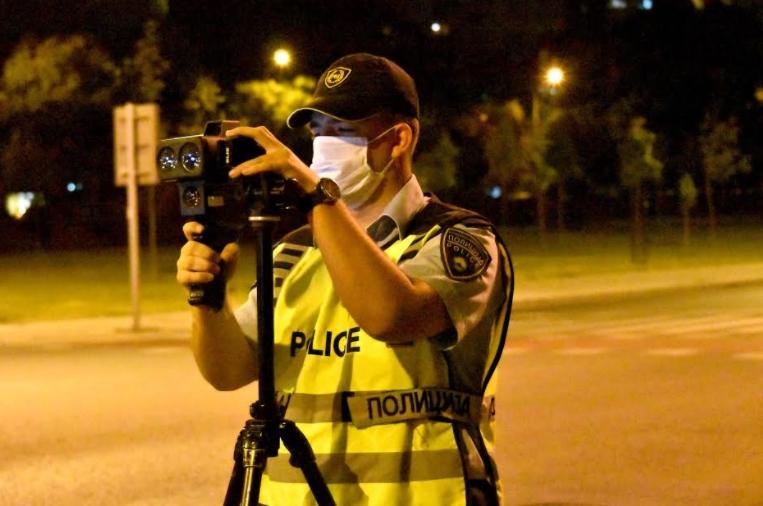 Казнети 513 возачи во Скопје: 148 за пречекорена брзина, 82 мотоциклисти