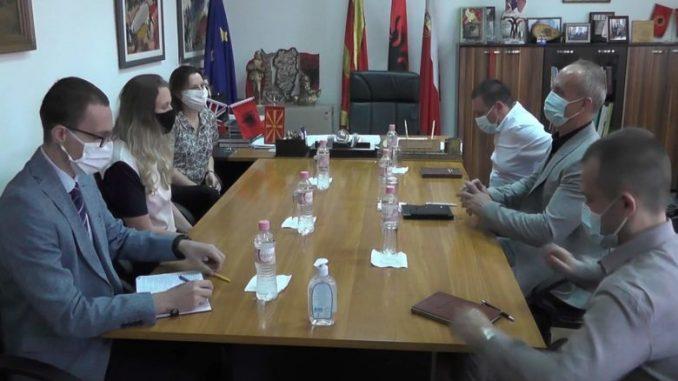 Амбасадорката Галовеј во посета на Кичево