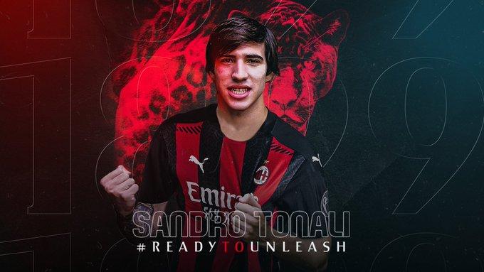 Тонали: Сонував да играм во дресот на Милан
