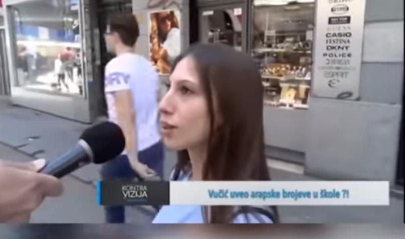 Фејл на денот: Србите во шок, Вучиќ ги тера децата да учат арапски броеви