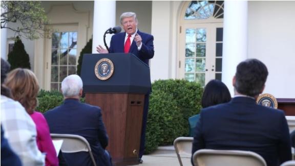 Трамп одржа прес конференција по повод Денот на трудот во САД