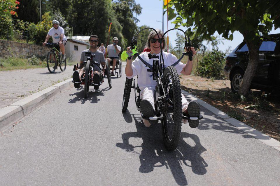 Велосипедска тура за спортисти со попреченост