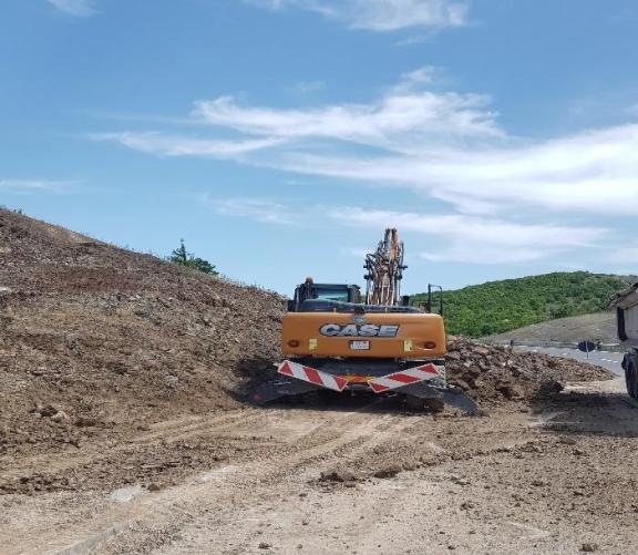 Времен режим на сообраќај на делницата Жировница-Бошков Мост