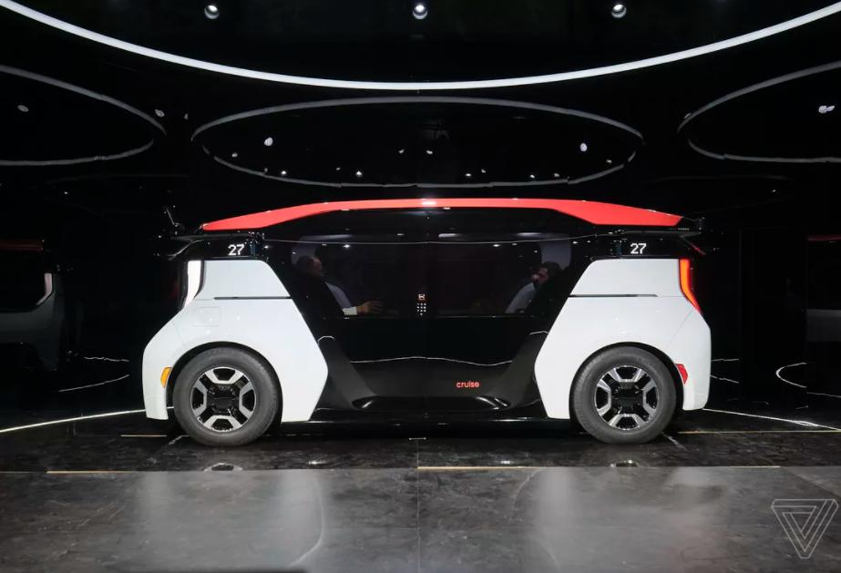 Компанијата Круз најави нов автомобил без волан (ФОТО)