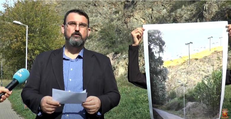 Стоилковски: Жичарата до Исар е симбол на лажни ветувања на СДСМ за Штип