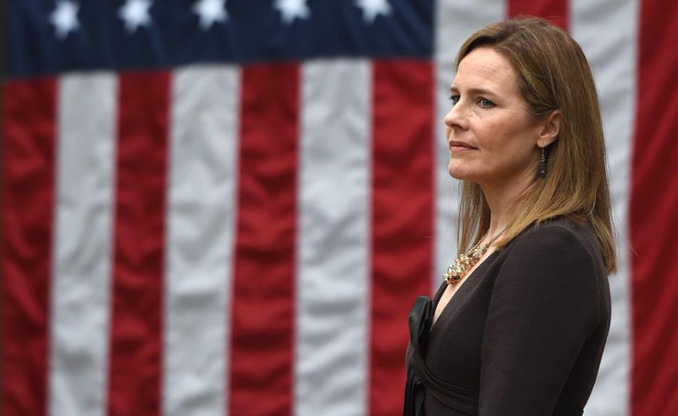 Ејми Кони Берет положи заклетва за судија на Врховен суд на САД