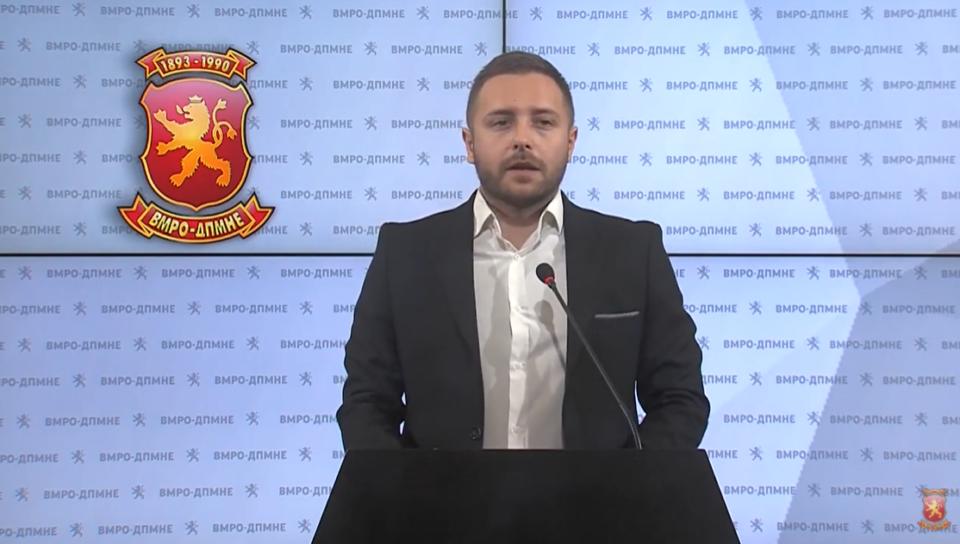 Арсовски: Оваа власт ќе остане запаметена како влада и премиер кој нанел најголемо зло на сопствената држава и сопствениот народ