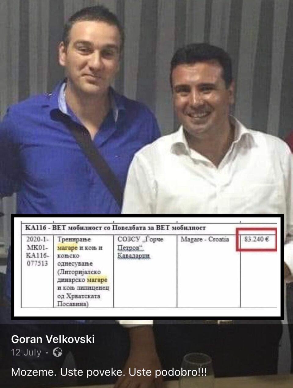ВЕЧЕР: Овој човек доби 83.240 евра од власта за тренирање магаре