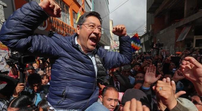 Социјалистот Луис Арче е најверојатен победник на изборите во Боливија