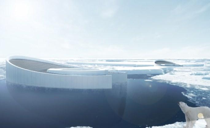 Доцни замрзнувањето на водата и создавањето мраз на Артикот