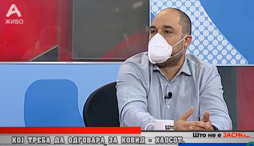 Лазаров: Мерките на власта за заштита од КОВИД се небулозни, работите за жал ни излегуваат од контрола