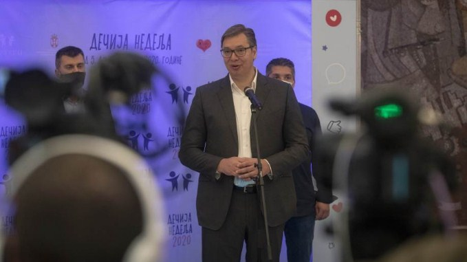 Вучиќ – Лајчак: Србија ќе разговара за компромис за Косово, а не за ултиматум