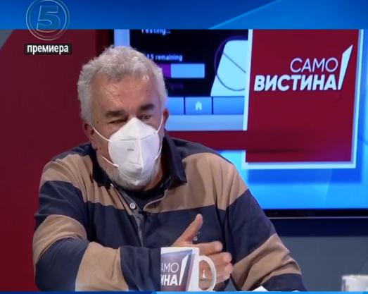 Пановски: Парадокс е да казнуваш некој ако не нема маска надвор, а ги оставаат рестораните да работат и таму луѓето ги вадат маските