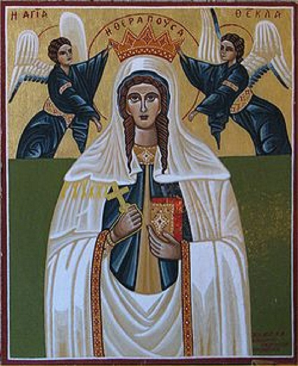 Денеска се слави Свети првомаченичка рамноапостолна Текла