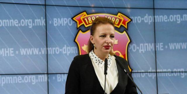 Пешевска: Владината политика и погрешниот избор на кадри се единствените виновници за лошата состојба во институциите!