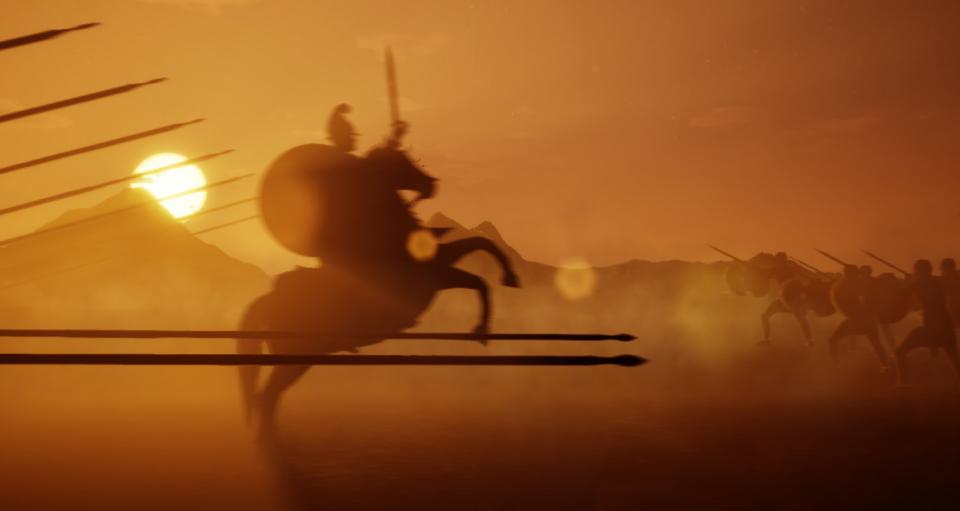 1 октомври 331 п.н.е., Александар го победил Дариј кај Гавгамела