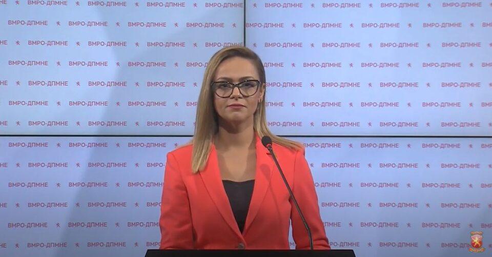 Изјава на пратеничката Панова пред Собрание