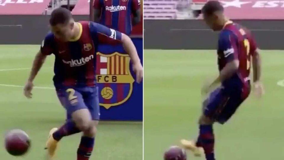 """Комедија на """"Камп Ноу"""", Барселона го плати 21 милион евра, а тој не знае да ја крене топката од земја (ВИДЕО)"""