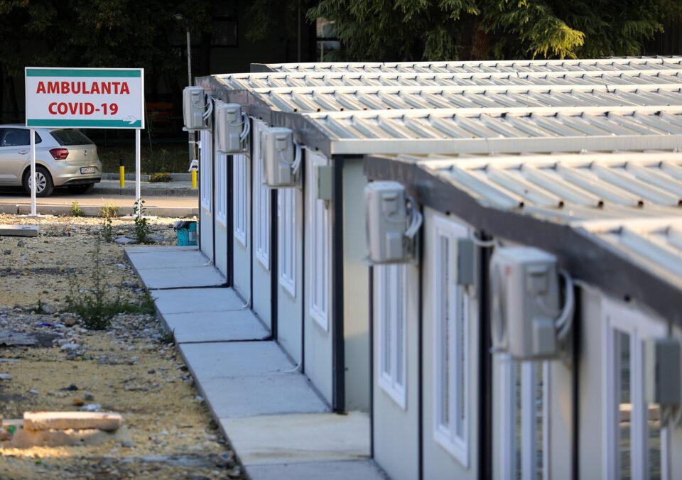 Во ковид центрите во Скопје за 24 часа се хоспитализирани 28 пациенти