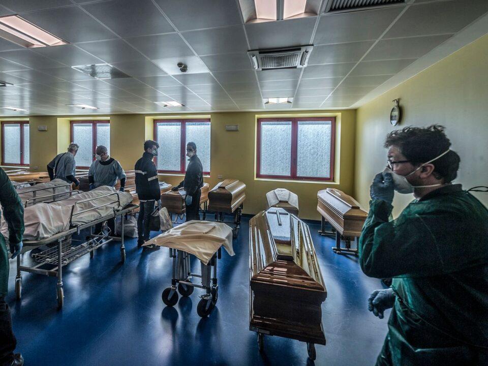 Италија на прво место во Европа според бројот на смртни случаи од коронавирус
