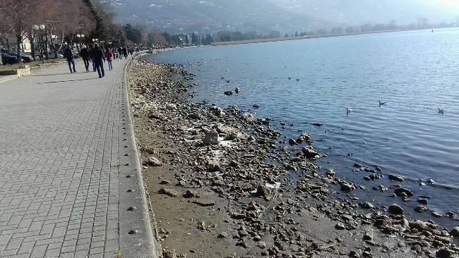 Вонреден надзор на ДИЖС врз излевање на води во Охридското Езеро од колекторскиот систем