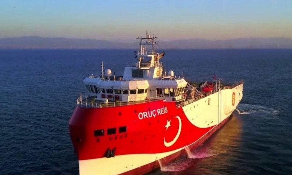 """Турскиот брод """"Оруч Рејс"""" се враќа во Источен Медитеран"""