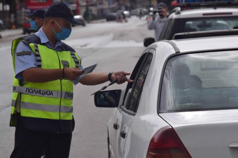 Засилени сообраќајни контроли во Тетово: 189 санкционирани возачи