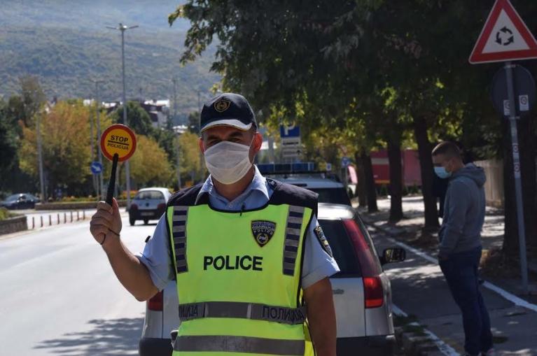 Скопје: 127 сообраќајни прекршоци во Скопје, 27 за брзо возење