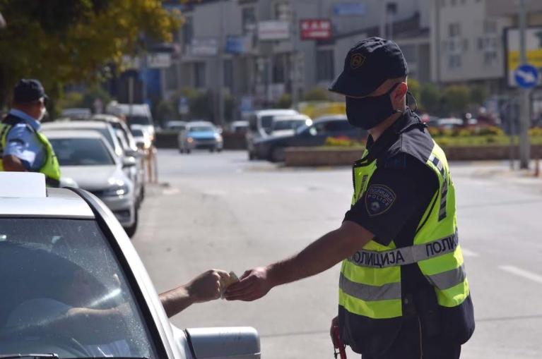 Засилени контроли во Кочани и Виница: 156 казнети возачи
