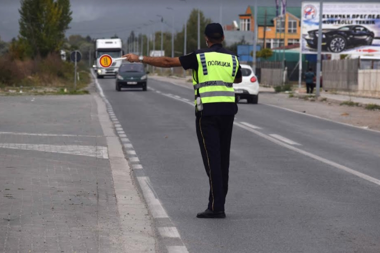 285 санкционирани возач во Скопје, 33 без возачка дозвола