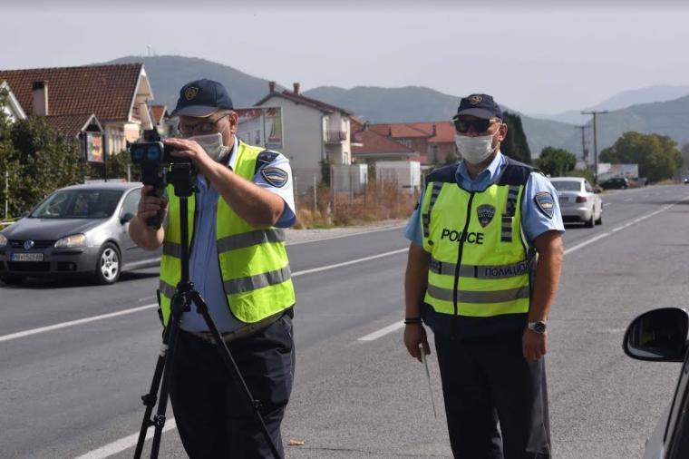 Се полни државната каса: Полицијата казни 200 возачи во Скопје за еден ден