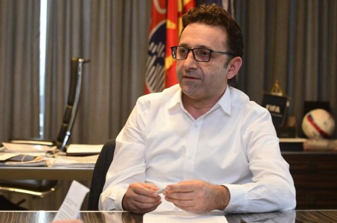 Сејдини: ФФМ нема да подлегне на  нефудбалски притисоци од страна на директорот на АМС и луѓе на премиерот
