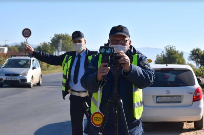 Казнети 388 возачи во Скопје