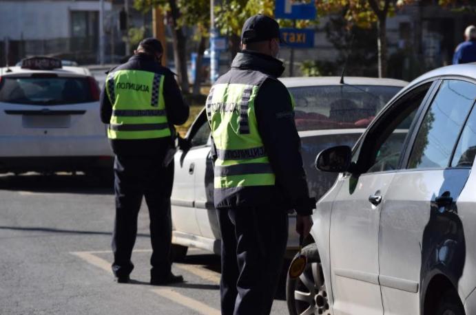 МВР: 158 санкционирани возачи во Кисела Вода и Сопиште