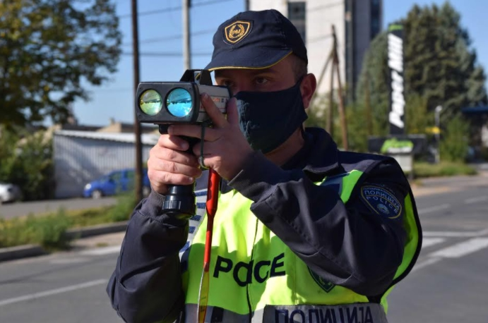 Казни за 334 возачи во Скопје