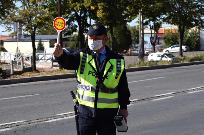 МВР: 217 казнети возачи во Скопје