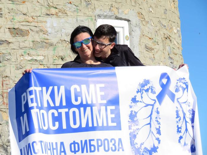 15-годишниот Александар го искачи Титов врв иако се соочува со цистична фиброза