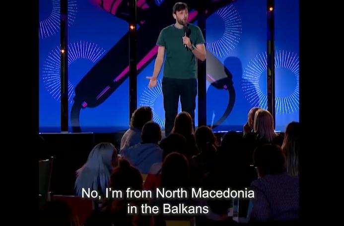 ВИДЕО: Македонец на Би Би Си 3 стенд ап комеди