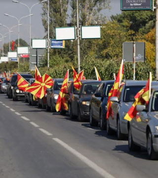 Мицкоски: Повикувам на натпартиски предупредувачки протест за одбрана на црвените линии кои се последниот бедем на нашиот идентитет